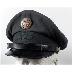 Vietnam Era Dark Green Officers Hat