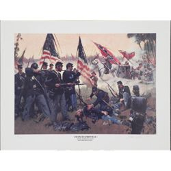 Chancellorsville Don Prechtel Historic Civil War Print