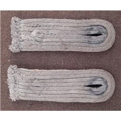 NAZI WEHRMACHT INFANTRY SHOULDER BOARDS SEWN ORIGINAL