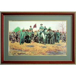 Mort Kunstler Civil War Framed Art Print General Lee