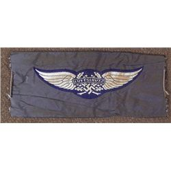 ORIGINAL LUFTSCHUTZ INSIGNIA PATCH AIR RAID SPOTTERS