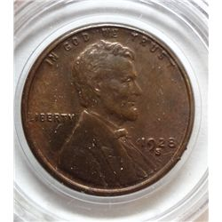 1928-S LINCOLN ONE CENT GEM BU R+B