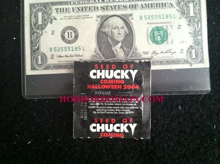 seed of chucky get a load of chucky promo condom