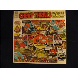 JANIS JOPLIN SIGNED CHEAP THRILLS LP