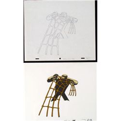 Drawing Original Production No Rodeo Herculoids Cel