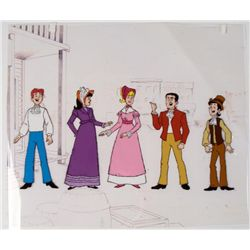 Archie Cel Original Animation Drawing Gang is Here