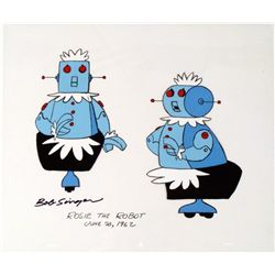 Original Signed Bob Singer The Jetsons 1962 Cel