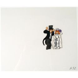 Animation Pure Hatred Original Cel Bride and Groom