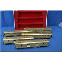 C.P.R Kettle Valley passenger car set, unpainted made by Kumata & Co. Ltd, Japan HO gauge