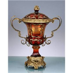 DECORATIVE LIDDED URN