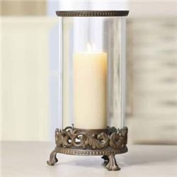 Provencial Hurricane Candle Holder