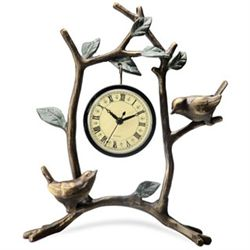 Love Birds Clock