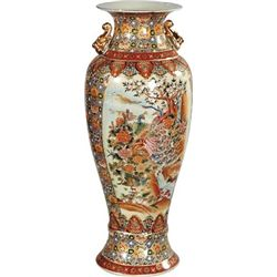 """VASE WITH PEACOCK"""