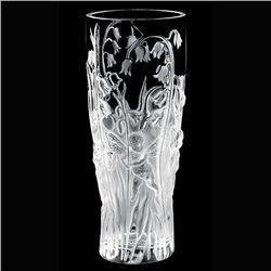 Lalique Elves Vase Mint