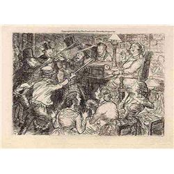 John Sloan Original Etching