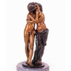"""Lovers"" Bronze Sculpture - Barbedinne"