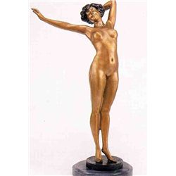 """Nude Awakening"" Bronze Sculpture -  Philippe"