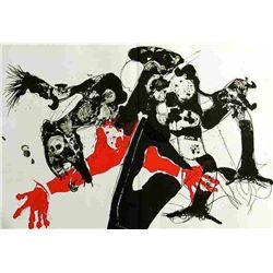 Paul Rebeyrolle Original Lithograph