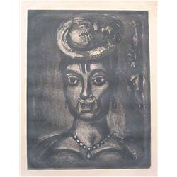 Georges Rouault Original Etching For Miserere