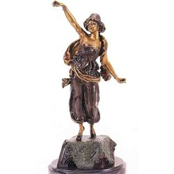 """Turkish Dancer"" Bronze Sculpture - Pierce"