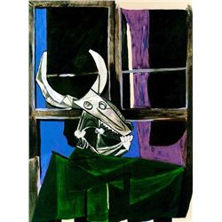 "Picasso ""Still Life With Steer Skull"""