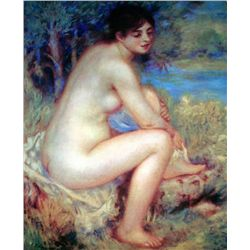 "Renoir ""Nude Drying Her Foot"" Ltd. Giclee'"
