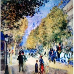 Renoir  The Great Boulevards  Ltd. Giclee'
