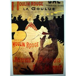 "Toulouse Lautrec ""Moulin Rouge"""
