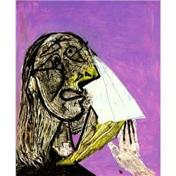 "Picasso ""Weeping Woman"""