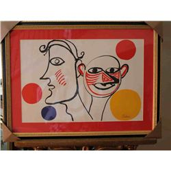 Calder - Hand Signed Lithograph