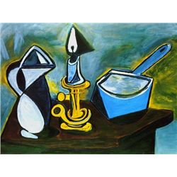 "Picasso ""Still Life With Candle"""