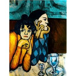 "Picasso ""Harlequin And His Companion"""
