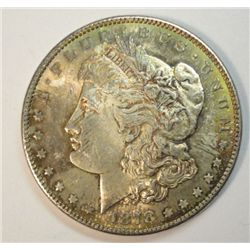 1878-S MORGAN SILVER DOLLAR MS64 NICE COIN