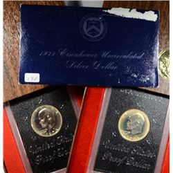 SILVER EISENHOWER DOLLARS IN ORIGINAL MINT PACKAGING