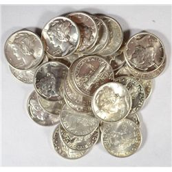 35  CHOICE to GEM BU Mercury dimes1938-39D-2 40-40S-3 41-4 41D-3 42D-7 43-43D
