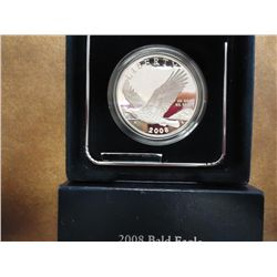 2008-P BALD EAGLE PROOF SILVER DOLLAR