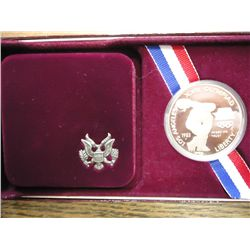 1983-S US OLYMPIC PROOF SILVER DOLLAR