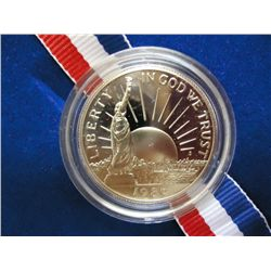 1986-S US LIBERTY HALF DOLLAR PROOF