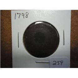 1798 US LARGE CENT (FINE)