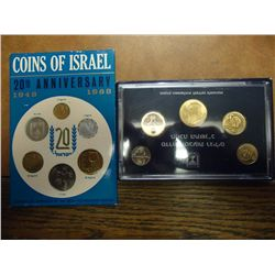 1968 & 91 ISRAEL MINT SETS ORIGINAL MINT PACKAGING