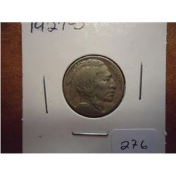 1927-S VF BUFFALO NICKEL
