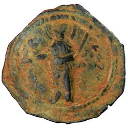 PRINCIPALITY OF ANTIOCH: Tancred, 1101-1112, AE follis (3.66g)