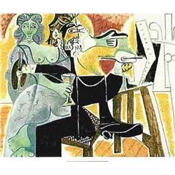 "Picasso ""Couple With Drinks"""