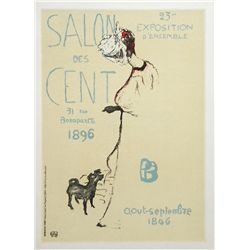 "Bonnard Lithograph ""Salon Des Cent"""