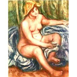 "Renoir  ""La Source"" Etching"