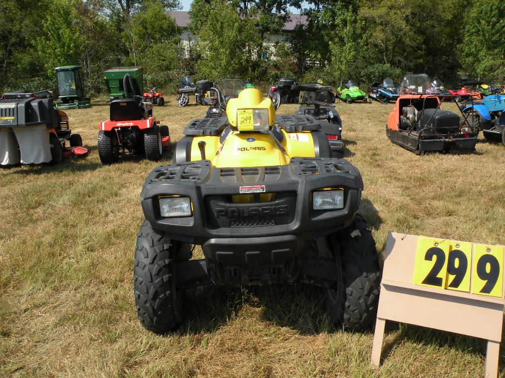 2004 Polaris Sportsman 400 4xach42ax4b394126