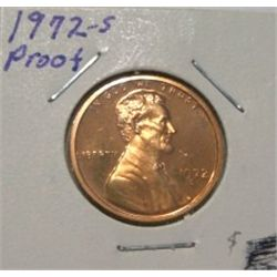 1972-S LINCOLN CENT *RARE PROOF HIGH GRADE*!!