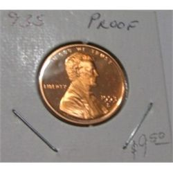 1993-S *HARD TO FIND* LINCOLN CENT RED BOOK VALUE IS $10.00 *RARE KEY DATE PROOF HIGH GRADE*!!