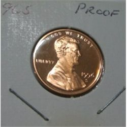 1996-S LINCOLN CENT RED BOOK VALUE IS $5.00 *RARE PROOF HIGH GRADE*!!