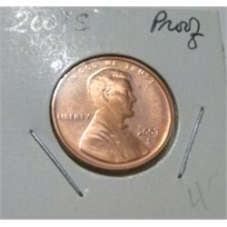 2007-S LINCOLN CENT RED BOOK VALUE IS $4.00 *RARE PROOF HIGH GRADE*!!